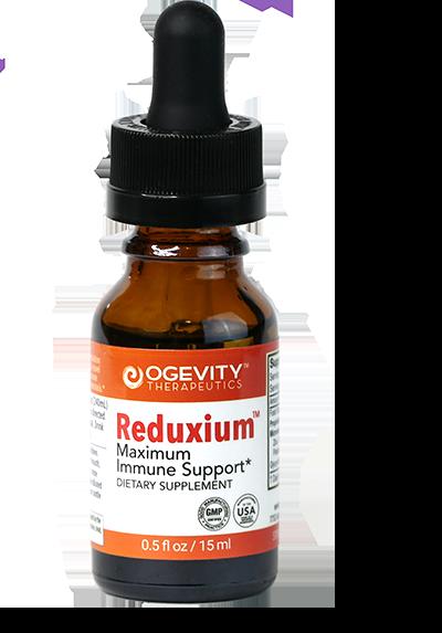 Reduxium Maxmimum Immune Support Bottle